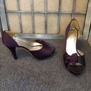 Used Purple Bridesmaid or Dress Shoe